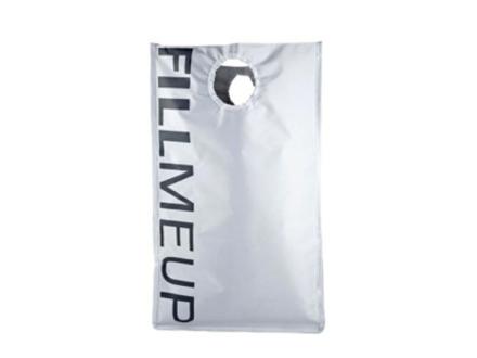 Zone Confetti-pyykkipussi, valkoinen