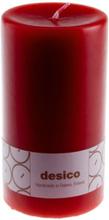 Desico Pöytäkynttilä, 14 cm tummanpunainen 3 kpl