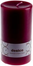 Desico Pöytäkynttilä, 14 cm viininpunainen 3 kpl