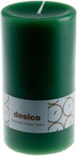 Desico Pöytäkynttilä, 14 cm vihreä 3 kpl