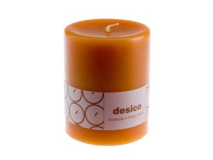 Desico Pöytäkynttilä, 10 cm hunajankeltainen 6 kpl