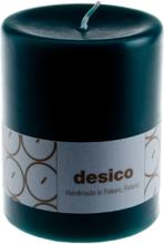 Desico Pöytäkynttilä, 10 cm tummanvihreä 6 kpl