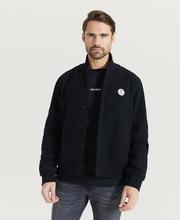 Nudie Jeans Jacka Bengan Wool Fleece Black Svart
