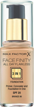 Max Factor All Day Flawless 3-in-1 Foundation, 30 ml Max Factor Foundation