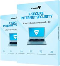 F-Secure Internet Security 2019 - 3 enheter