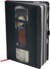 Stranger Things - VHS - Premium Notizbuch -Notisbok - svart, hvit
