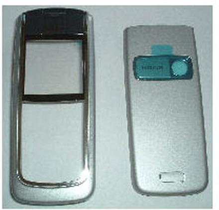 Nokia 6020 Skal, Original, Silver/Grå