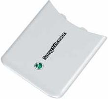 Sony Ericsson W580i batterilucka, vit, original