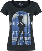Peter Pan - Don't Grow Up -T-skjorte - svart