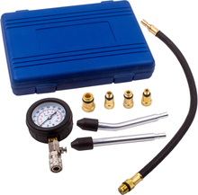 For Motorbikes Cars Petrol Engine Cylinder Compression Test Gauge Detector Kit