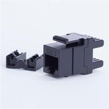 DigitalBOX Start.Lan modul Keystone Jack Utp cat. 6 (1xRJ-45) 8P8C 180° (STLKJUC6180BK)