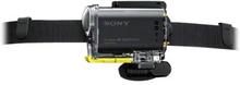 Sony BLTUHM1 - Stödsystem - huvudbandsmontering - för Action Cam-FDR-X1000, X3000, HDR-AS10, AS15, AS20, AS200, AS30, AS300, AS50