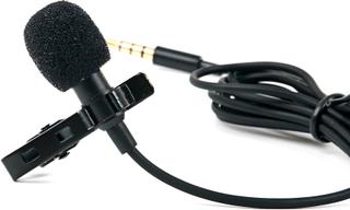 TRIXES mygga mikrofon Clip-On kavajslag mikrofon för Smartphones oc...