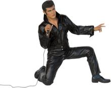 The king på knä med mikrofon 134 cm