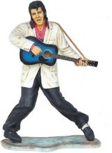 The king stående med gitarr 178 cm
