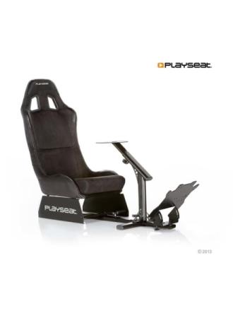 Evolution Alcantara - Black Racer stol - Sort -