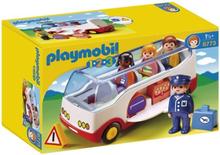 Playmobil 1.2.3 1.2.3 Airport Shuttle Bus, 1,5 År, Multifärg, Pojke/flicka, 200 mm, 90 mm, 80 mm