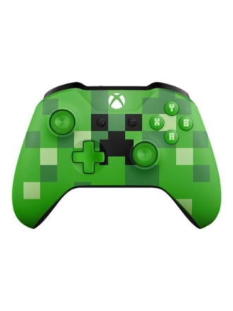 Xbox Wireless Controller - Minecraft Creeper - Gamepad - Xbox One S - Proshop