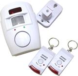 Trådlös Pir Motion Sensor Alarm + 2 avlägsen kontr
