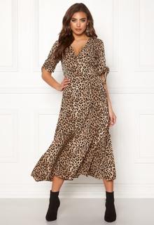 BUBBLEROOM Emma dress Leopard 42