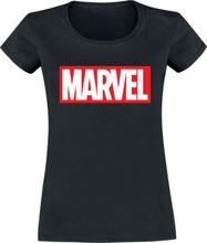 Marvel - Logo -T-skjorte - svart