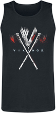 Vikings - Axe -Tanktopp - svart