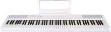 Artesia Performer BK 88-Key Portable Digital Piano, White