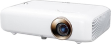 LG MiniBeam PH550G - DLP-projektor - RGB LED - 3D - 550 ANSI-lumen (hvit) - 1280 x 720 - 16:9 - 720p - WiDi / Miracast Wi-Fi Display