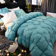 Weiße Gänsedaunendecke Große Bettdecke Bettdecke Winter Full Queen King Size Bettwäsche
