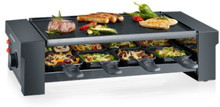 Severin Raclettegrill med Pizza-funktion 8 pannor