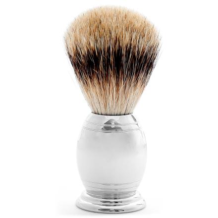 Stål Detaljert Silvertip Badger Barberkost