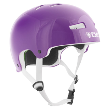 TSG hjelm - Evolution Solid Color Gloss Purple
