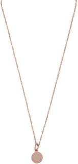 SNÖ of Sweden Remy Small Round Pendant Halsband Plain Rosé 38 cm