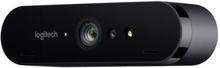 Logitech BRIO STREAM - Nettkamera - farge - 4096 x 2160 - 1080p, 4K - lyd - USB