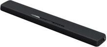 Yamaha YAS-107 - Soundbar - för tv - 2.1-kanals - bokhylla - trådlös - Bluetooth - 120 Watt - 3-vägs - svart