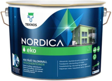 Nordica Eko Træbeskyttelse Lys grå RAL 7035 2.7L