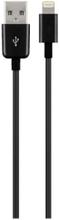 Lightning Cable Black - 0.5m