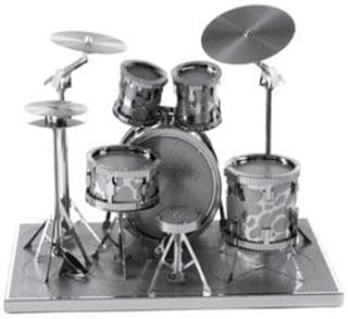 Metalbyggesæt Metal Earth Drum Set
