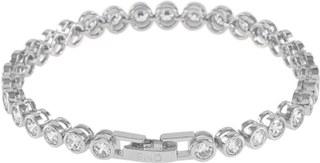 SNÖ of Sweden Noice Armband Silver/Clear 18 cm
