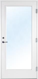 Altandörr med klarglas - Bröstningshöjd 250 mm 9x21 Högerhängd