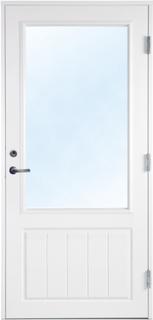 Altandörr med klarglas - Bröstningshöjd 700 mm 9x20 Högerhängd
