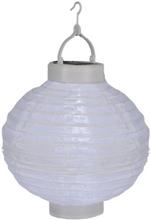 Risboll Vit LED m solpanel