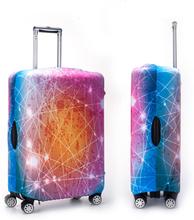 Nebula Multicolor Outdoor Travel Elastic Gepäck Abdeckungswagen Koffer Abdeckungsschutz gegen Staub