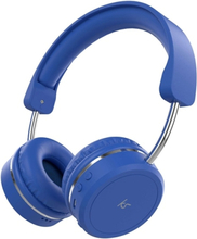 KitSound Metro X Bluetooth Headset - Blå