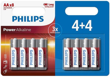 PHILIPS LR6/AA 8-pack