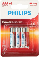 PHILIPS LR03/AAA 4-pack