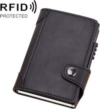 RFID Popup Plånbok Svart