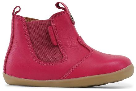 Bobux steg upp flickor Jodphur Boots Fuchsia