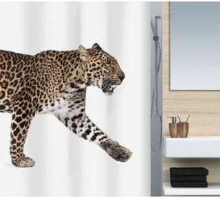 Leijma Leopard Duschdraperi
