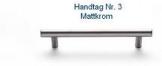 Svedbergs Handtag Nr 2 - 5 128 Mattkrom Svedbergs handtag Nr 3